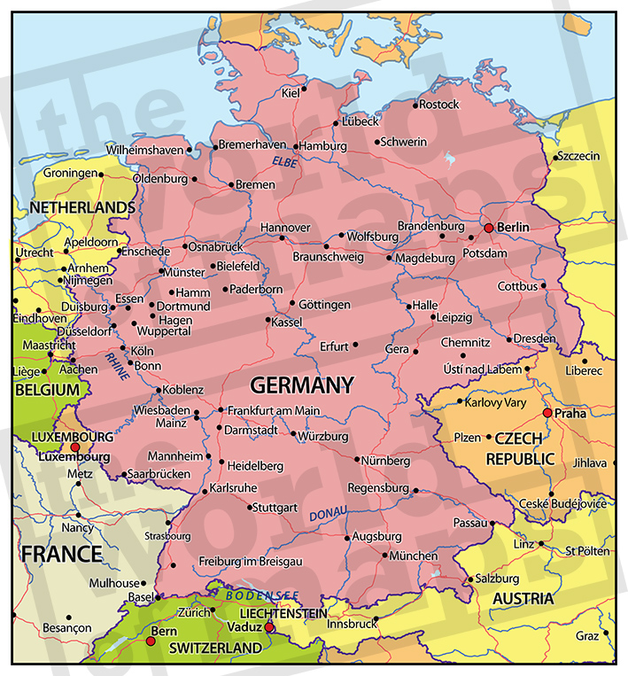 Palletdistributie Duitsland en Engeland en Frankrijk